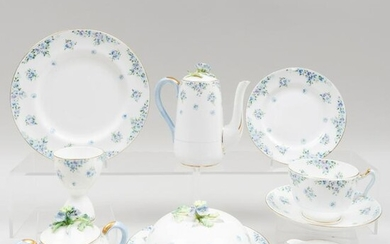 Crown Staffordshire Porcelain Breakfast Service and