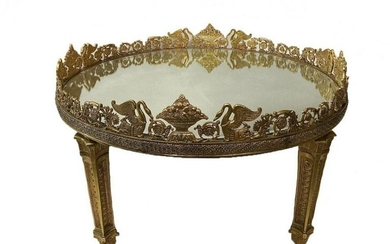 EMPIRE STYLE DORE BRONZE LOW TABLE
