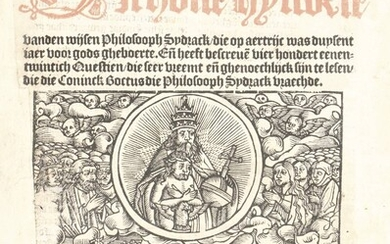 [Incunabula and early 16th cent. books]. Hier beghint...