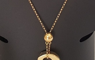 Joaquín Berao. 45 cm- 18 kt. Yellow gold - Necklace with pendant