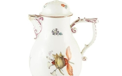 MEISSEN PORCELAIN HOT-WATER JUG LATE 18TH CENTURY