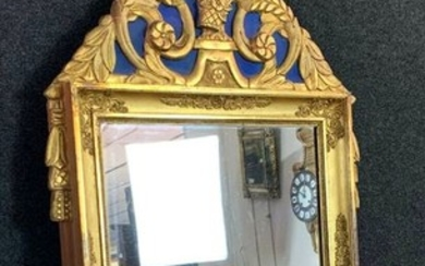 Mirror in golden wood and lacquered wood - Neoclassical Style - Wood - Early 20th century
