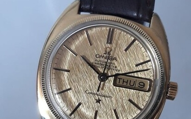 Omega - Constellation Automatic Linen Dial - 168.017 - Men - 1960-1969