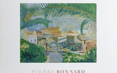 Pierre Bonnard, The Palm, Poster on foamcore