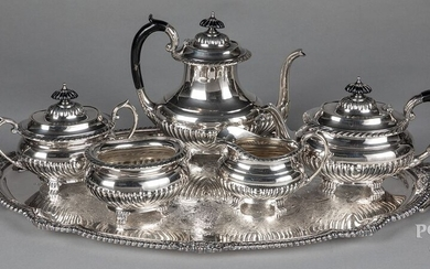 Reed & Barton sterling silver tea service
