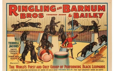 Ringling Brothers and Barnum & Bailey. Terrell Jacobs.