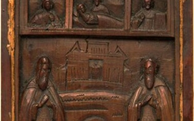 Saints and Dormition of the Virgin Mary