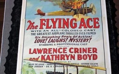 The Flying Ace (1924) US Three Sheet Movie Poster LB