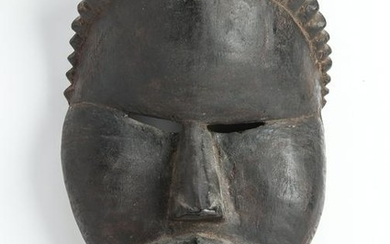 West African Carved Tribal Mask