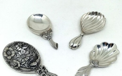 Wonderful Collection of 4 Spoons (4) - .925 silver - Gianmaria Buccellati - Italy - Second half 20th century