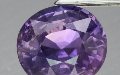 1.64 ct. Natural Untreated Purple Sapphire - MADAGASCAR