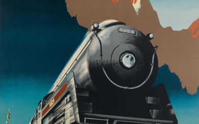 PETER EWART (1918-2001) TRAVEL CANADIAN PACIFIC ACROSS...