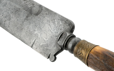 A COMPOSITE HUNTING KNIFE