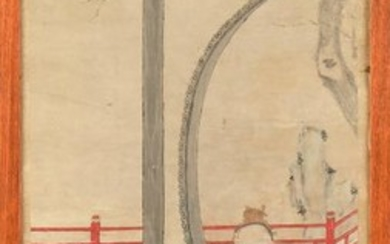 A late 19th / early 20th century Chinese painting...