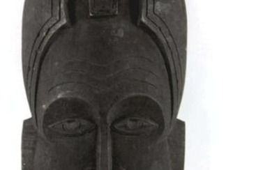 AFRICAN ANTIQUE HAND CARVED MASK
