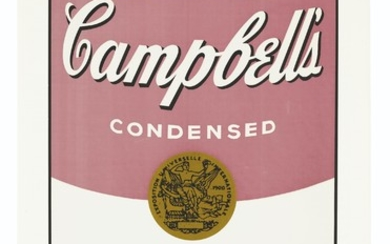 ANDY WARHOL (1928-1987), Black Bean, from Campbell's Soup I