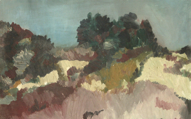 Alice Blair Ring (American, 1869-1947) - Landscape, Oil on Canvas.