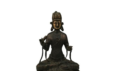 Chinese Bronze Figure Statue