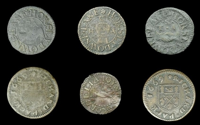 Duplicate Southwark 17th Century Tokens from the