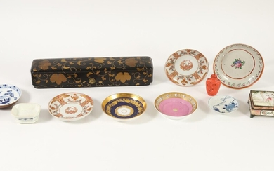 Group of Asian Lacquer, Porcelain, Enamel and Other Articles, 19th Century and later FR3SHLM