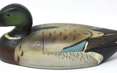 Hand Made & Painted Duck Decoy Statue