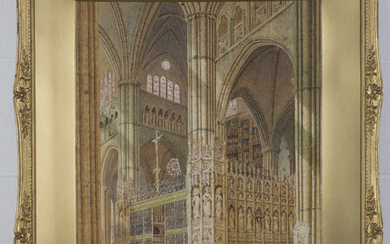Henry Schäfer - 'Capilla Major, Toledo Cathedral, Spain' and 'St Stephen's