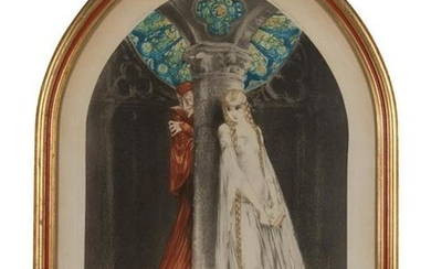 Louis Icart (French, 1880-1950) Faust