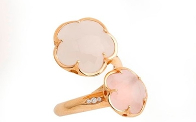 Pasquale BRUNI, 18K (750/°°) pink gold ring, Bon...