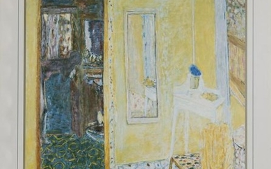 Pierre Bonnard, Interior at le Cannet, Poster on