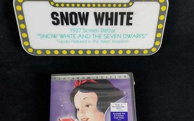 Platinum Edition Snow White Seven Dwarfs 2 Disc DVD Set