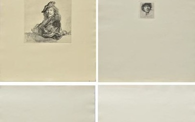 Rembrandt Etchings Issued by Rembrandthuis, 4