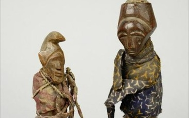 Two power figures - D. R. Congo