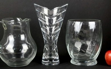 VINTAGE FINE GLASS GROUPING