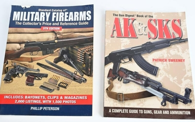 2 FIREARMS REFERENCE BOOKS MILITARY FIREARM AK SKS