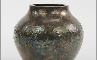 A Chinese Silver Vase.
