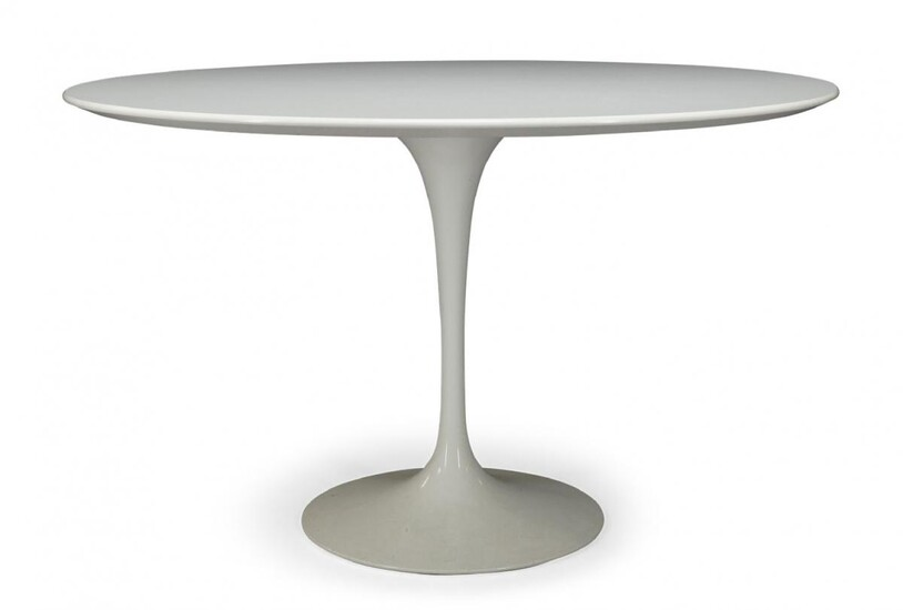 After Eero Saarinen (1910-1961), a 'Tulip' dining table, produced by...