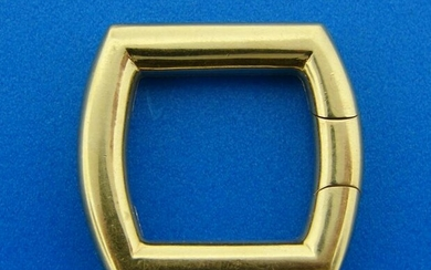 CARTIER 18k Yellow Gold SCARF HOLDER Clip Elegant