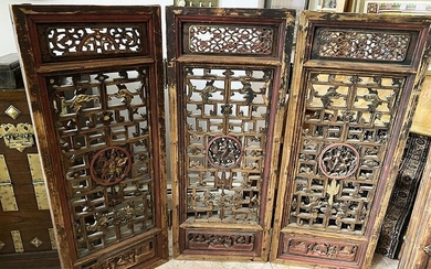 Chinese Architectural Wood Screen, RM2A