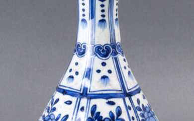 Chinese Pear-shaped Blue and White Vase