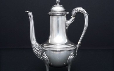 Coffee pot - .950 silver - Dr Paris - France - ca. 1900