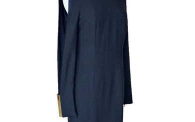 Gucci Dress Wide Gold Cuff with Open Slit Sleeve