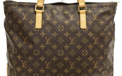 LOUIS VUITTON 'CABAS MEZZO' MONOGRAM TOTE BAG