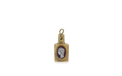 Louis XV1 Miniature gold and enamel scent Bottle - Louis XV1...