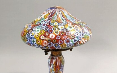 Murano - Table lamp with polychrome murrine - Glass