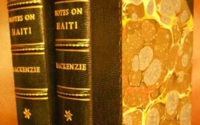 NOTES ON HAITI, Made During a Residence in that Republic [2 volume complete set]
