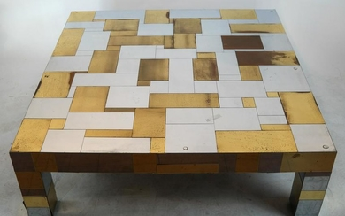 Paul Evans-Style Two-Tone Coffee Table
