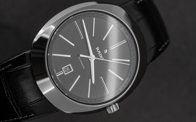 Rado - Automatic D-Star Plasma Black with Leather Strap - R15760155 - Men - BRAND NEW