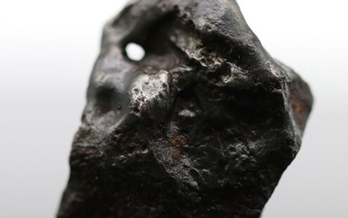 SIKHOTE ALIN with natural hole Metal Meteorite, MUSEUM quality - 25 g