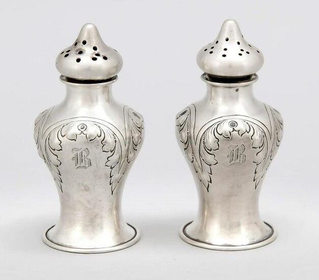 Salt and pepper casters