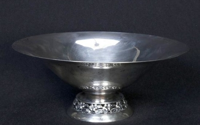 Sterling Silver Compote Center Bowl, 20th C